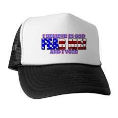 Fear Me! (God) Trucker Hat