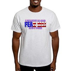 Fear Me! (God) T-Shirt