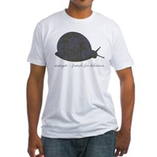 Escargot - French for delicious - Fitted Tee