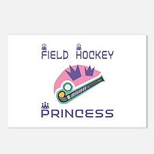 SportChick's HockeyChick Princess Postcards (Packa