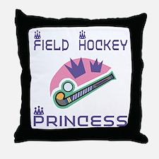 SportChick's HockeyChick Princess Throw Pillow