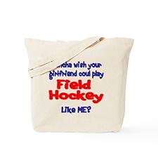 SportChick HockeyChick Doncha Tote Bag