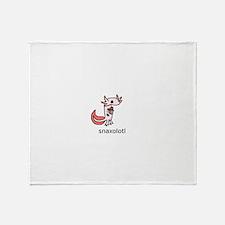 snax-alotol Throw Blanket