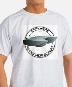 OFFSHORE POWERBOAT GRAPHIC WHITE T SHIR T-Shirt