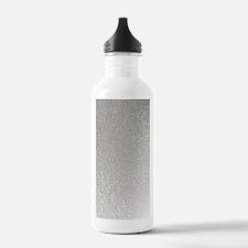 metalic pearl silver g Water Bottle