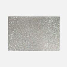 metalic pearl silver glitter Magnets