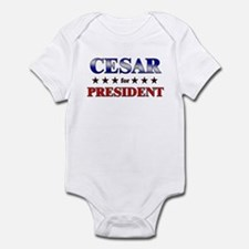 CESAR for president Infant Bodysuit