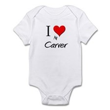 I Love My Carver Infant Bodysuit