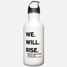 We. Will. Rise. Water Bottle
