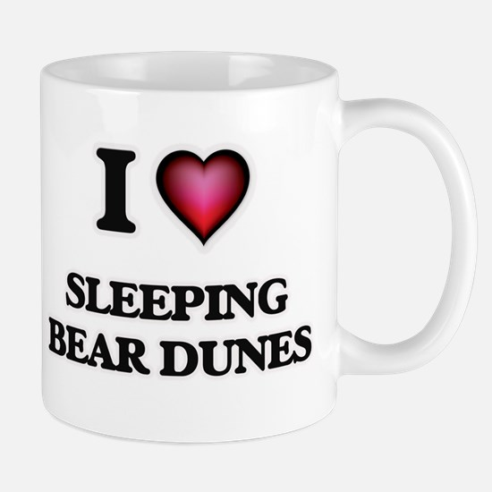 I love Sleeping Bear Dunes Michigan Mugs