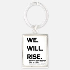 We. Will. Rise. Keychains