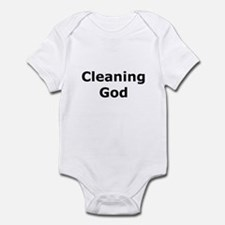Cleaning God Infant Bodysuit