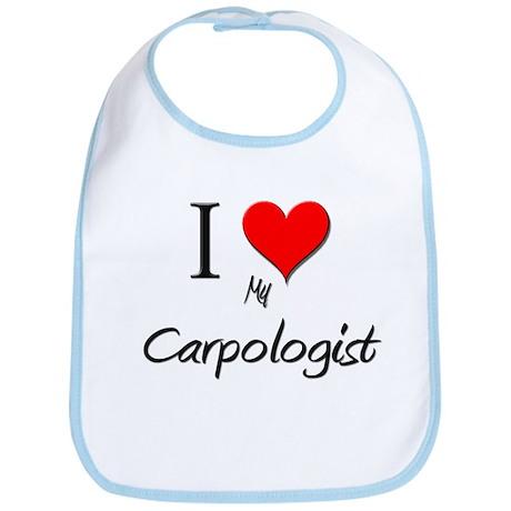 I Love My Carpologist Bib