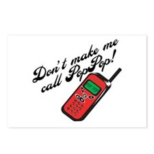 Don't Make Me Call Pop Pop Postcards (Package of 8