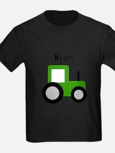Wyatt - Green Tractor T-Shirt