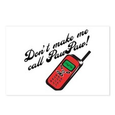 Don't Make Me Call PawPaw Postcards (Package of 8)