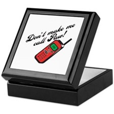 Don't Make Me Call Paw Keepsake Box
