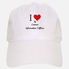I Love My Careers Information Officer Baseball Baseball Cap