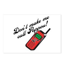 Don't Make Me Call Pappou Postcards (Package of 8)
