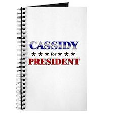CASSIDY for president Journal