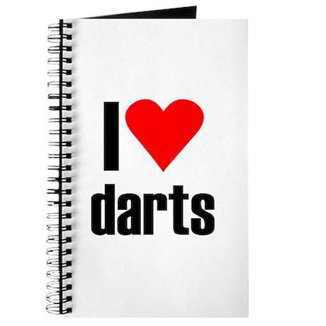 I love darts Journal