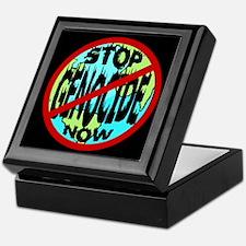 STOP GENOCIDE Keepsake Box