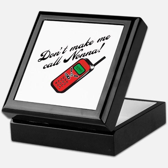 Don't Make Me Call Nonna Keepsake Box