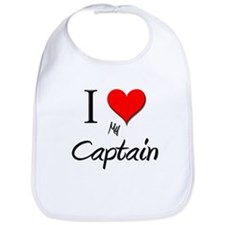 I Love My Captain Bib