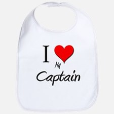 I Love My Captain Bib