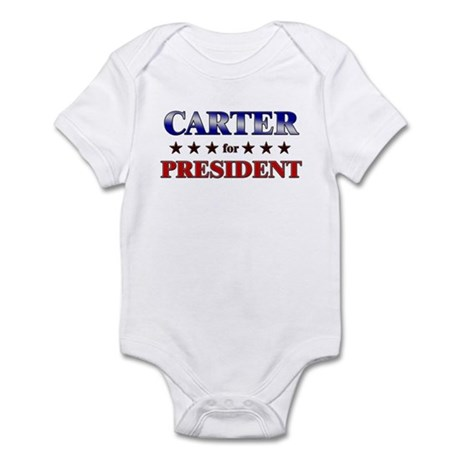 CARTER for president Infant Bodysuit