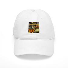 Happy Thanksgiving Harvest Ba Baseball Cap