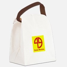 SYMBOL - COSA NOSTRA:- Canvas Lunch Bag