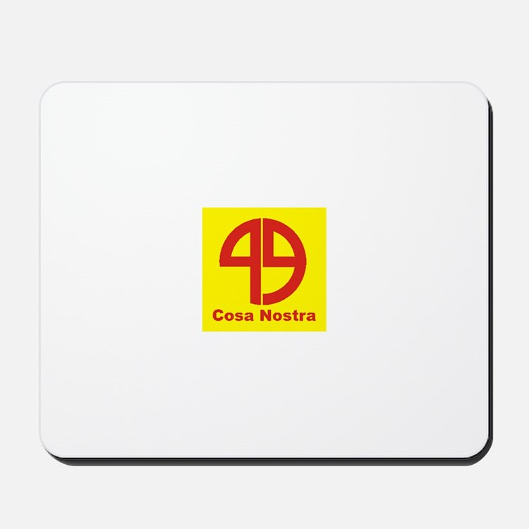 SYMBOL - COSA NOSTRA:- Mousepad