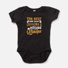 Best Thing About Grandma's House Is Baby Bodysuit
