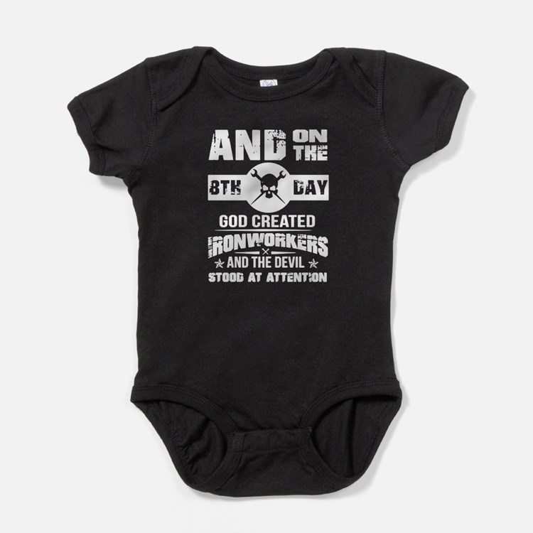 Ironworker Baby Bodysuit