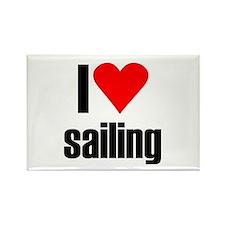 I love sailing Rectangle Magnet