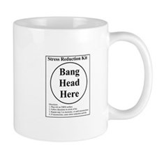 Bang Head Here Mug .