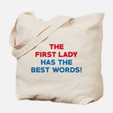 The Best Words Tote Bag