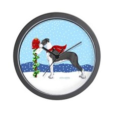 Great Dane Mantle UC Mail Wall Clock