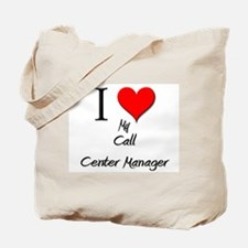 I Love My Caliologist Tote Bag