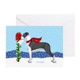 Great dane christmas Greeting Cards (20 Pack)