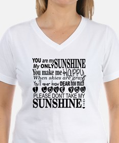 Cute You are my sunshine Shirt