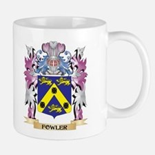 Fowler Coat of Arms (Family Crest) Mugs