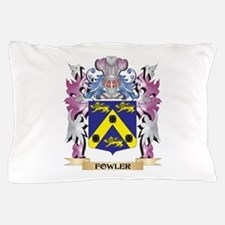 Fowler Coat of Arms (Family Crest) Pillow Case