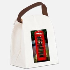 Phone Box Canvas Lunch Bag