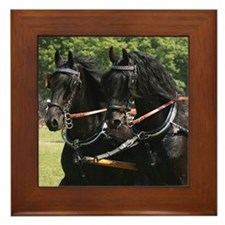 """Friesian 10"" Framed Tile"