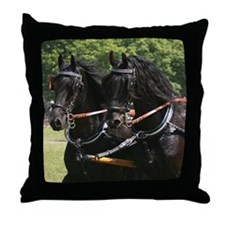 """Friesian 10"" Throw Pillow"