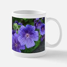 Geranium Flowers Background Mugs