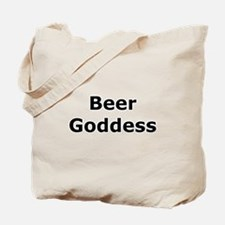 Beer Goddess Tote Bag
