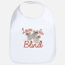 Love Is Blind Bib